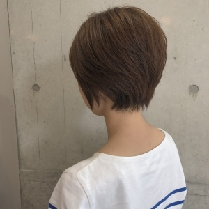 前髪なし大人ショート#ショートカット#レイヤーカット
